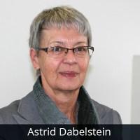 Astrid Dabelstein, Schatzmeisterin